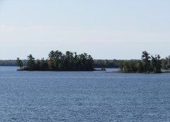 A partial view of beautiful Lake of the Woods.