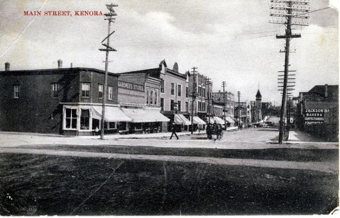 kenora early 1900s 2